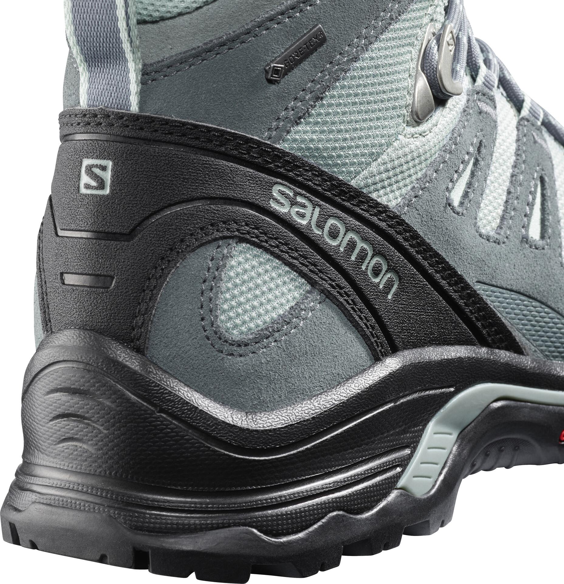Salomon Quest Prime GTX Schoenen Dames, leadstormy weathereggshell blue
